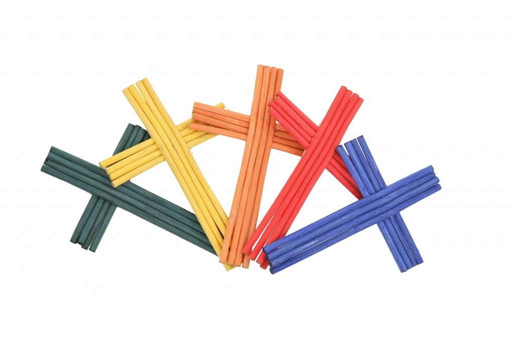 Coloured crosses for personalisation