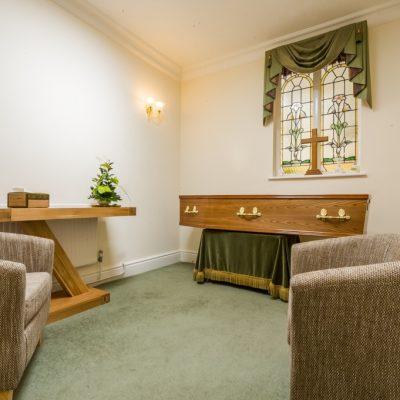 Contemporary Chapel - Hillier Chapel of Rest