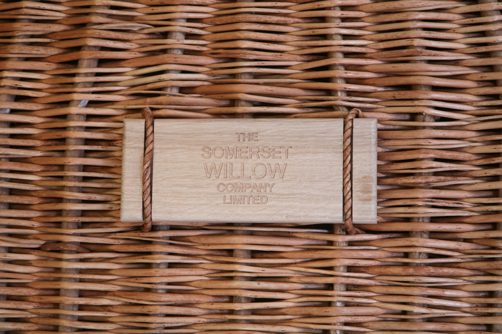 Engraved oak nameplate