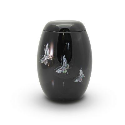 GFU 208 Butterfly Fibreglass Urn