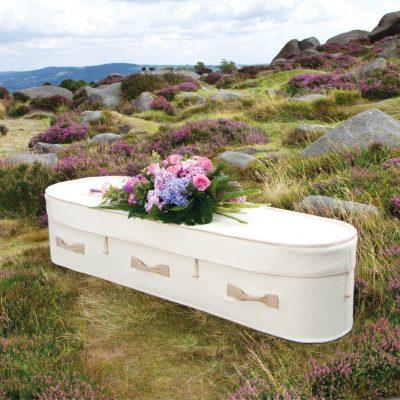 Netural Woollen Coffin