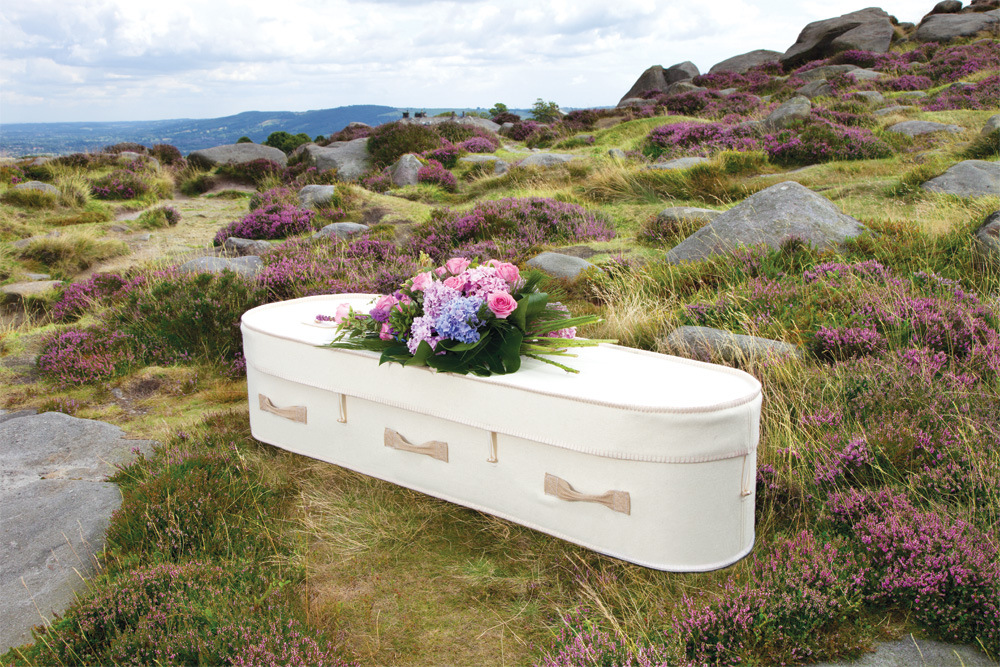 Netural Woollen Coffin