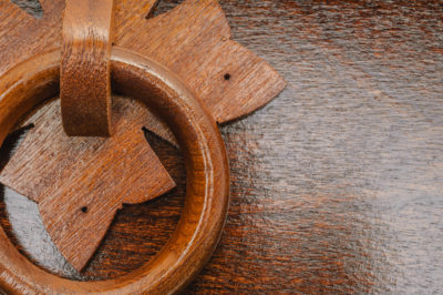 Savernake dark stain handles