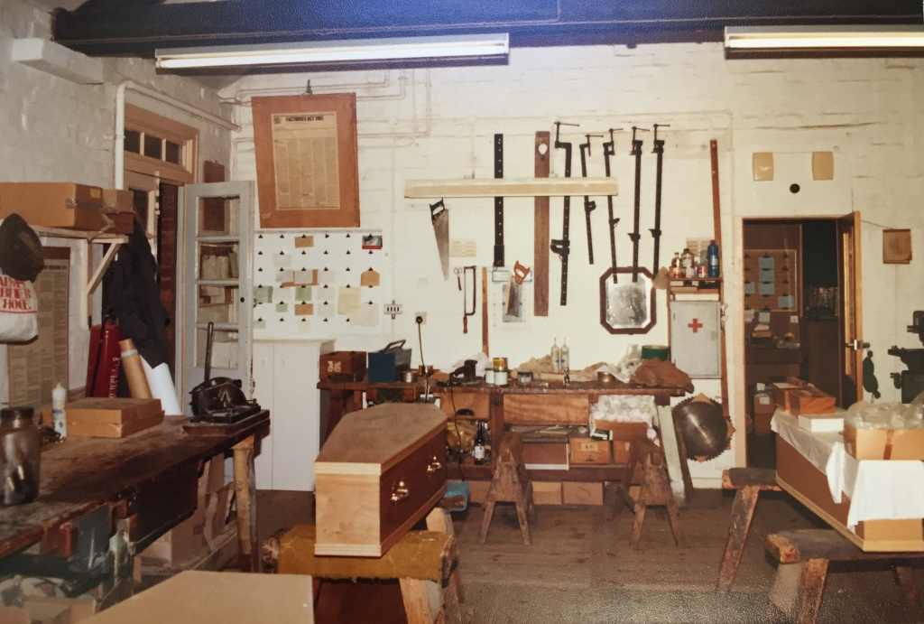 Upstairs Workshop 1980