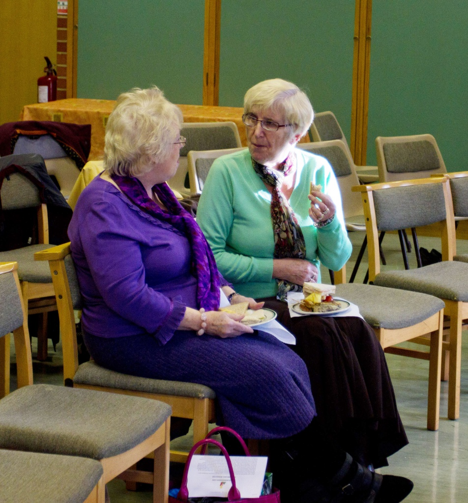 Ladies at the Hillier Bereavement Support Group