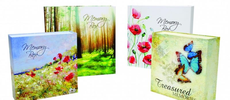 Memory Boxes - Funeral Stationery