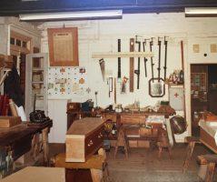 Upstairs Workshop 1980