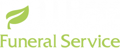 Hillier funeral service logo white