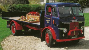 Funeral Lorry Hearse - 1950's Leyland Beaver Flatbed