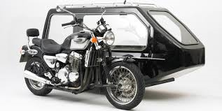Triumph Motorbike and Sidecar Hearse